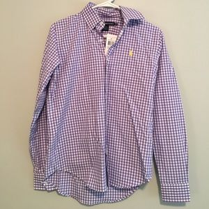Polo by Ralph Lauren Tops - NWT Polo women's gingham button down. Size 6