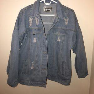 ROMWE Jackets & Blazers - BRAND NEW jean jacket