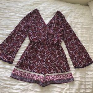 Takara Pants - Long sleeve romper, size Medium