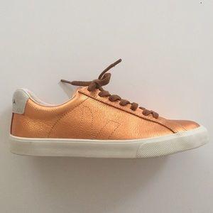 Veja Shoes - Veja Esplar Copper Sneakers