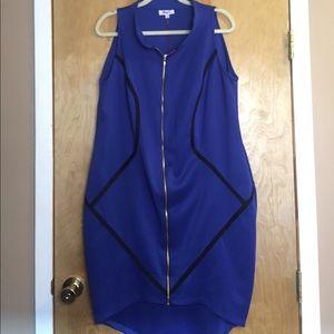 Monif C Royal Blue Dress