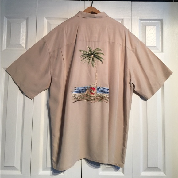 67 off bamboo cay other men 39 s bamboo cay button front for Bamboo button down shirts
