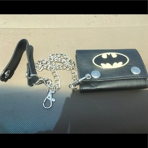 Marvel Comic Other - BatMan Wallet w/Chain clip in