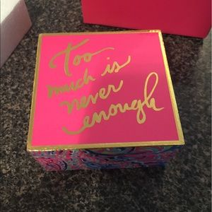 Lilly Pulitzer Jewelry - Lilly pulitzer lacquer box