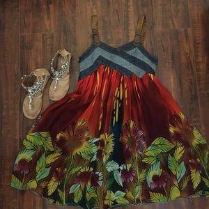 Beautiful Sunflower Dress