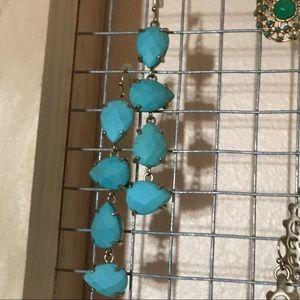 Kendra Scott Jewelry - EUC Kendra Scott Turquoise Laine earrings