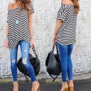 Tops - 🇺🇸 SALE 🇺🇸 Stripe Top Small Only