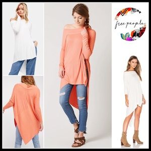 ❗️1-HOUR SALE❗️FREE PEOPLE PULLOVER TUNIC