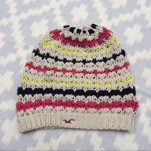 Hollister Accessories - Hollister multicolor striped beanie