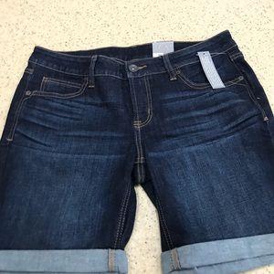jcpenney Pants - JCPenney Bermuda Jean shorts.