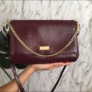kate spade Handbags - Kate Spade Greer Bixby Burgundy/wine color