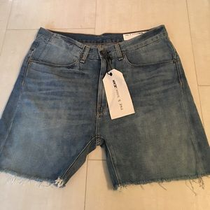 Brand new rag and bone engineer cutoff shorts