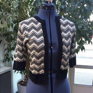 Olian Sweaters - Olian brand short chevron cardi