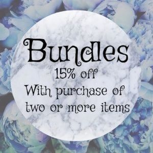 Other - 💥💥15% on Bundles💥💥