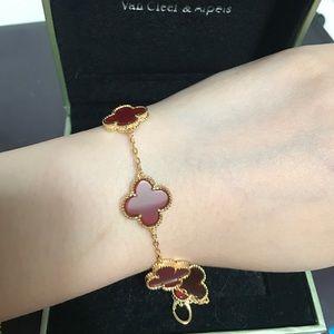 fashion van cleef a Alhambra clover bracelet