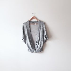 Guess Sweaters - Guess gray cardigan