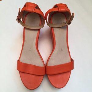 Joe Fresh Shoes - Platform Ankle Strap Sandals Very Comfortable EUC