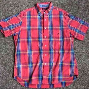 Nautica Other - Nautica Men's Plaid Dress Shirt