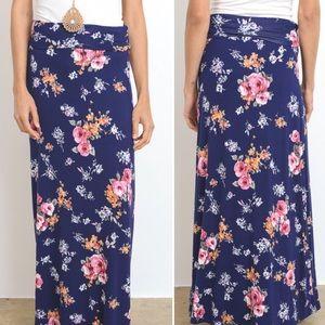 Dresses & Skirts - Arrived! S-L Floral maxi skirt