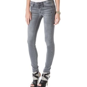 Genetic Denim Denim - Genetic Drifter Stretch Denim skinny grey jeans