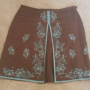 Carole Little Dresses & Skirts - 🎈🇺🇸Memorial Wknd Sale🎉Carole Woman Linen Skirt