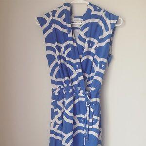Diane von Furstenberg Dresses & Skirts - Hooded Wrap Romper