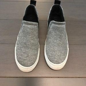 Zara Shoes - Zara Grey Slip on Sneakers
