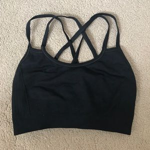 Nux Other - Double Cross Strap sports bra