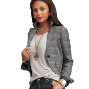 CAbi Glen Plaid Counsel Career Jacket / Blazer
