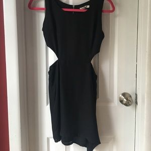 sheinside Dresses & Skirts - Black mini cutout dress