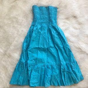 Moda International Other - Aqua Blue Swim Cover Dress