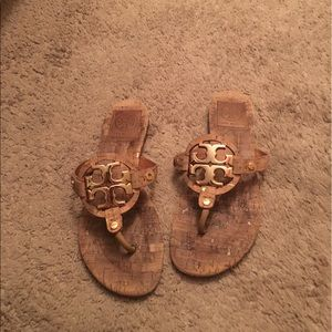 Tory Burch Shoes - Authentic Tory Burch cork sandals