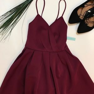 Brand New She & Sky Fit and Flare Scuba Dress