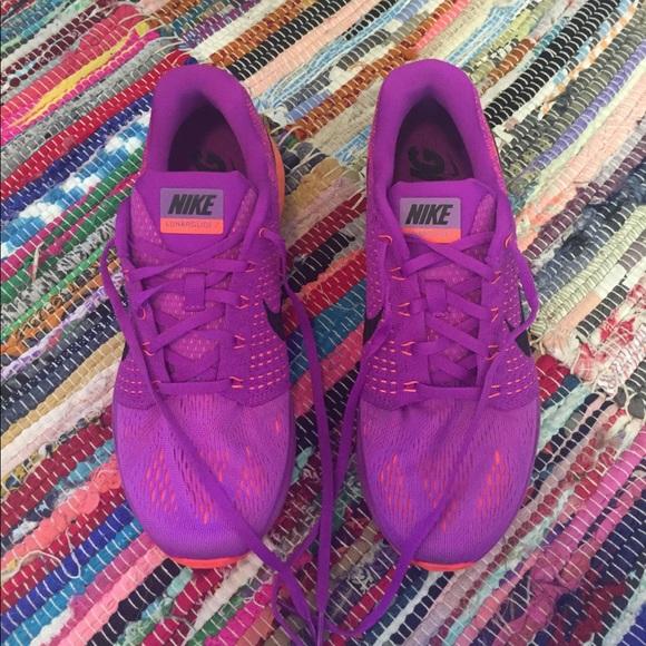 a00a668e0ebdb ... best magenta neon nike lunarglide 7 9.5 purple orange 2b1b6 61895