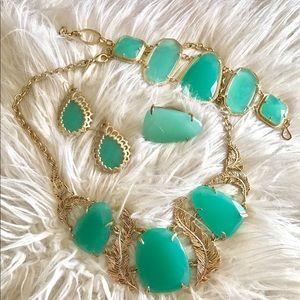 Kendra Scott Jewelry - Vintage EUC Kendra Scott Chalcedony Iggy Necklace