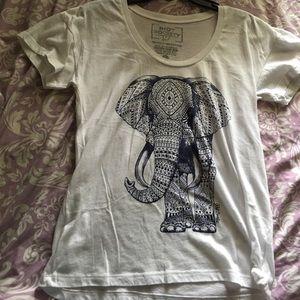 riot society Tops - Elephant Shirt!