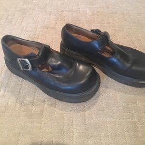 Dr. Martens Shoes - Dr. Marten black Mary Janes