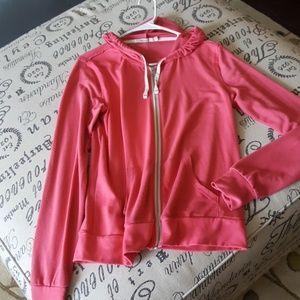 Abbot Main Sweaters - Pink light hoodie