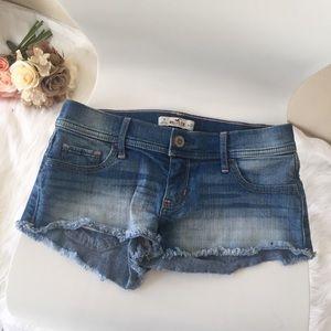 Hollister Pants - {Hollister} Denim Light Wash Shortie Shorts