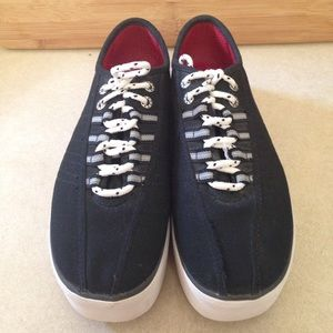 Tommy Hilfiger Shoes - Tommy Hilfiger Vintage Thick Sole Sneakers,SZ 8.5M