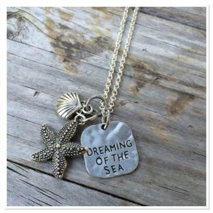 Boutique Jewelry - Dreaming of the Sea Charm Necklace
