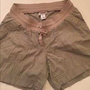 Motherhood Maternity Pants - Motherhood khaki shorts