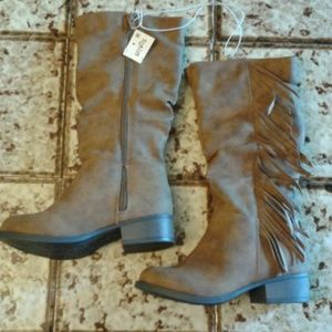 Stevies Other - Stevies girl's fringe boots