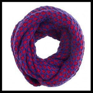 j. crew // honeycomb knit infinity scarf cowl NWT