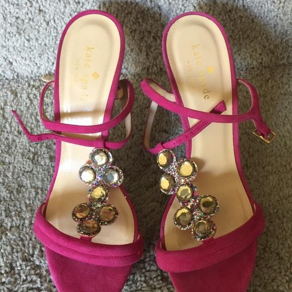 75 kate spade shoes kate spade velvet pink suede