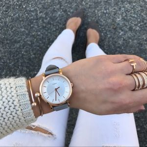 Timex Simple Classic Rose Gold watch