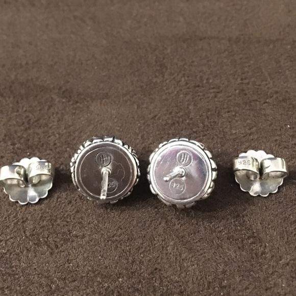 John hardy john hardy sterling silver knot stud earrings for John hardy jewelry earrings