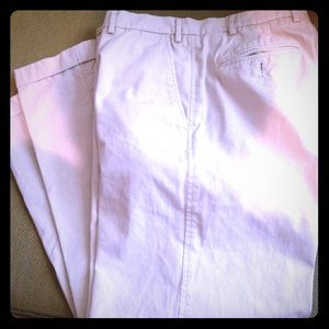 Faconnable Other - FACONNABLE FLAT FRONT CUFFED KHAKIS SZ W 35