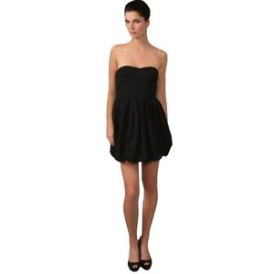 Joie Dresses & Skirts - JOIE Black Taurus Bodice Silk Bubble Strapless