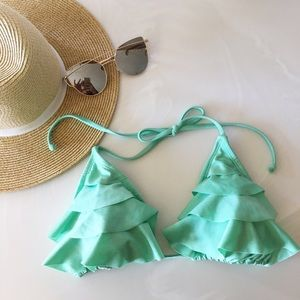 Xhilaration Triangle Bikini Top